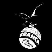 Fernet black and white logo vector