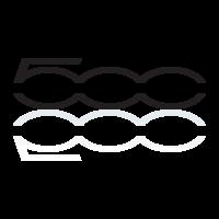 FIAT 500 logo vector