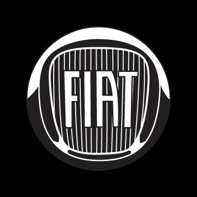 Fiat B&W 2007 logo vector