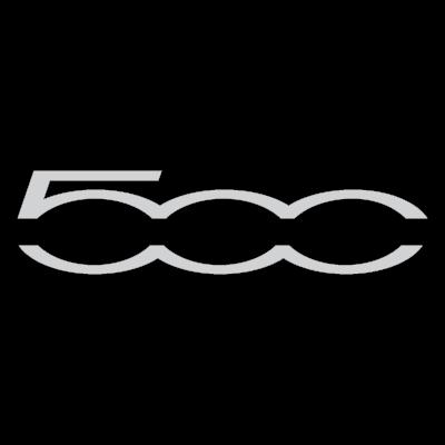 Fiat 500 2007 logo vector