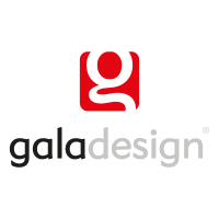 Gala design logo vector