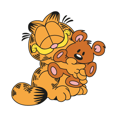 Garfield & Pooky logo vector