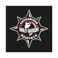 Harley Davidson Authorized Rentals vector logo