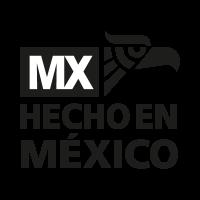 Hecho en mexico de nuevo vector logo