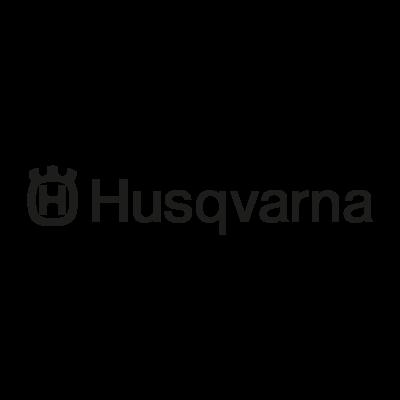 Husqvarna black vector logo