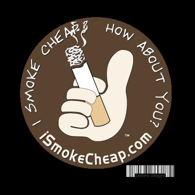 I Smoke Cheap vector logo