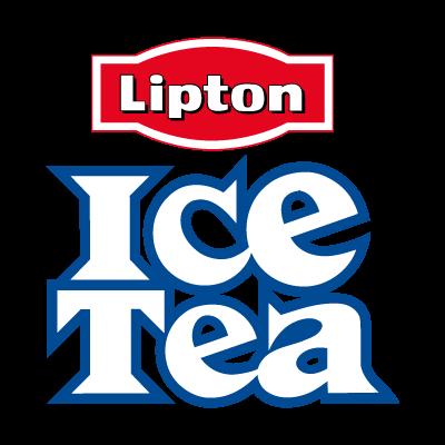 Ice Tea vector logo