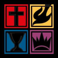 Igreja do Evangelho Quadrangular novo vector logo