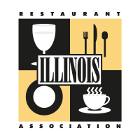Illinois Restaurant Association vector logo