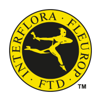 Interflora Fleurop vector logo