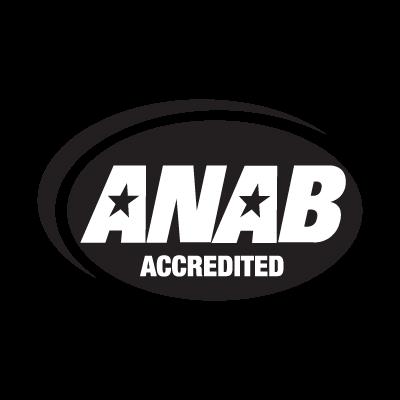 ISO 9001-2000 ANAB vector logo