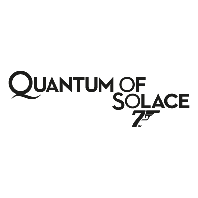 James Bond 007 Quantum of Solace vector logo