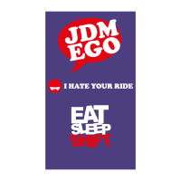 JDM Ego vector logo