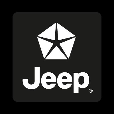 Jeep black vector logo