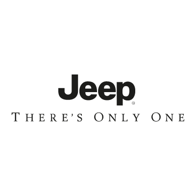 Jeep There's Only Once vector logo