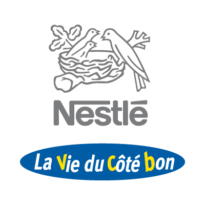 La Vie du Cote bon vector logo