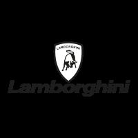 Lamborghini black vector logo