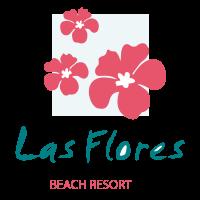 Las Flores vector logo