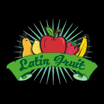 Latin Fruit vector logo