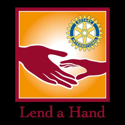 Lend a Hand vector logo
