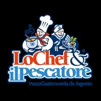 Lo Chef e il Pescatore vector logo