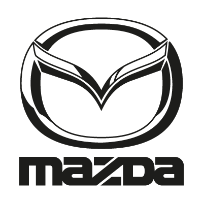 Mazda black vector logo