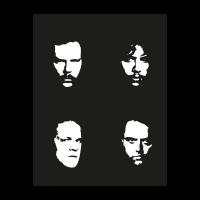 Metallica faces vector