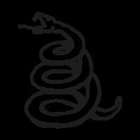Metallica Snake vector logo