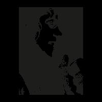 Michael jackson face vector logo