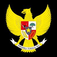National emblem of Indonesia vector logo