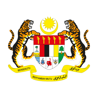 Coat of arms of Malaysia vector logo