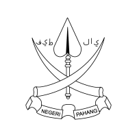Coat of arms Pahang vector logo