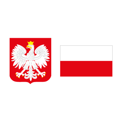 Flag of Poland vector logo