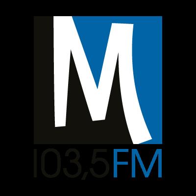 M 103,5 Radio vector logo
