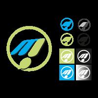 M! Publicidad vector logo