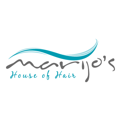 Marijo's House of Hair vector logo