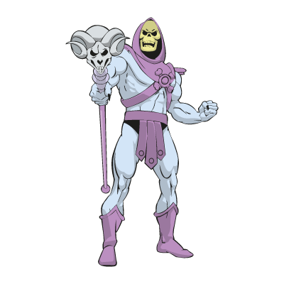 Master of the Universe – skeletor vector