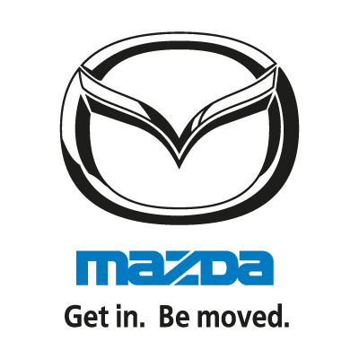 Mazda (Get in. Be moved.) vector logo