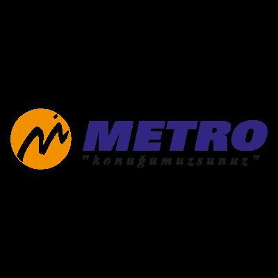 Metro Turizm vector logo