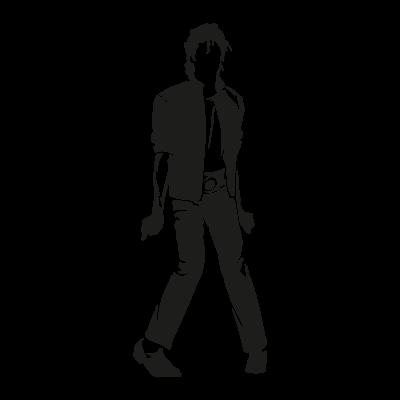 Michael Jackson Characters vector