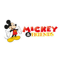 Mickey & Friends (.EPS) vector