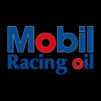 Mobil Racing oil vector logo
