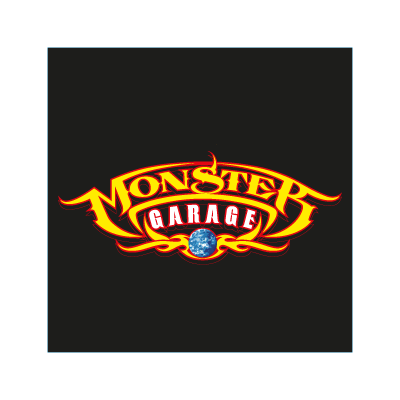 Monster Garage vector logo