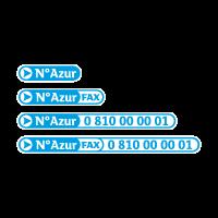 N Azur vector logo