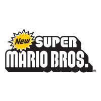 New Super Mario Bros Nintendo vector logo