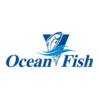Ocean Fish vector logo