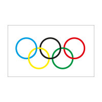 Olympic Flag vector logo