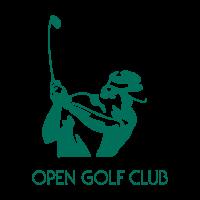 Open Golf Club vector logo