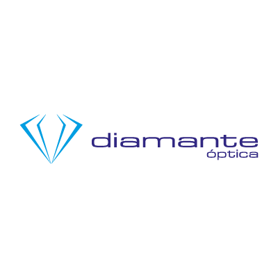 Optica Diamante vector logo