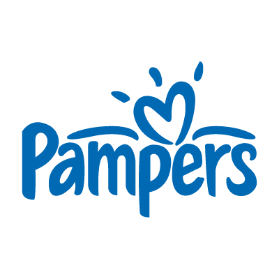 Pampers baby vector logo